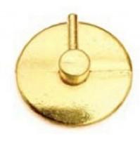 CF 12 BLISTER Ganci Per Bris Bris Tondi In Acciaio Oro