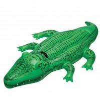 Cavalcabile Alligatore Verde 168 x 86 cm Intex 58546