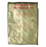 Cf. 100 Pz. Telo Copritutto In Polietilene Leggero 16 Mq