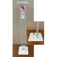 Colonna Porta Dispenser A Pedale Per Gel Igienizzante