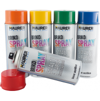 Confezione da 6 Pezzi di Briko Spray 400 Ml. Maurer Plus
