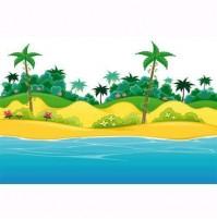 Cover Adesive Dis. 016 ( spiaggia ) Per Motore Climatizzatore