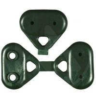 Green Buttons Per Rete Ombreggiante Papillon
