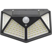 Lampada Solare Con Sensore Crepuscolare/Movimento 100 Led Maurer
