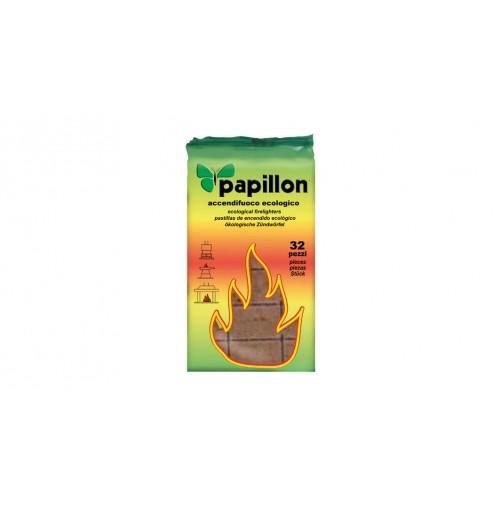 Lotto di 28 confezioni di Accendifuoco Ecologico Per Barbecue Papillon