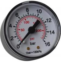 Manometro Attacco Posteriore Per Compressori