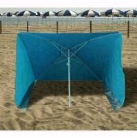 Ombrellone Da Spiaggia Poly Tinta Unita 170X170 Mm. Papillon