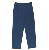 Pantaloni Da Lavoro In Cotone Blu