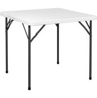 Tavolo In Metallo E Pvc Bianco