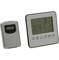 Termometro Digitale Wireless Con Stazione Meteo Maurer