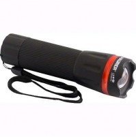 Torcia Led A Batteria In Abs Con Zoom Maurer