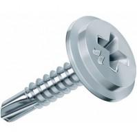 Viti Per Metallo Zincate Autoperforanti Ffll Cr 4,2 Mm.
