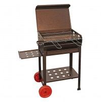 BARBECUE A CARBONE 'POLIFEMO' cm 40 x 70 x H 95